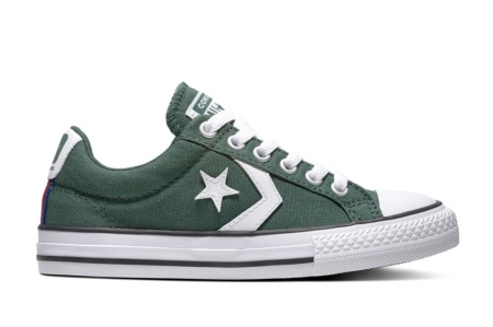 CONVERSE STAR PLAYER OX FIR/WHITE/ENAMEL RED