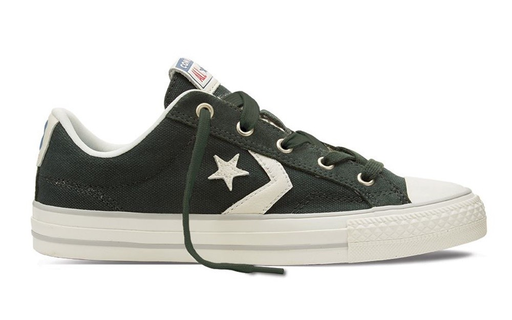 Converse star player ox outdoor mouse verde