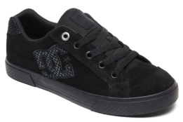 DC SHOES CHELSEA SE J BLACK/SILVER/BLACK