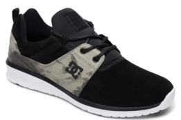 DC SHOES HEATHROW SE BLACK/CAMO PRINT