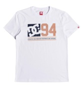 DC SHOES PLAYER SEVEN SS SNOW WHITE