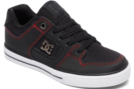 DC SHOES PURE SE NEGRO/ROJO