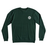 DC SHOES REBEL CREW HUNTER GREEN