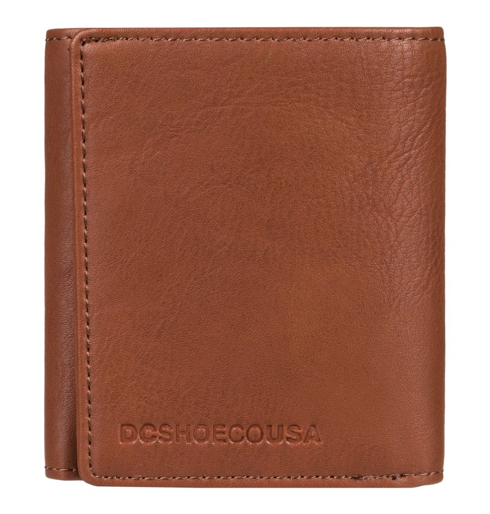 ed126a7c7 Dc Shoes Side Note Wallet Coffee Bean