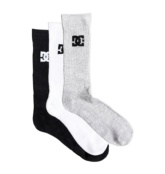 DC SHOES SPP DC CREW 3PK ASSORTED
