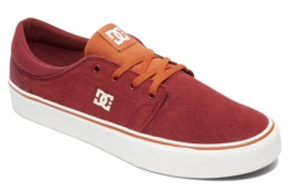 DC SHOES TRASE SD BURGUNDY/TAN