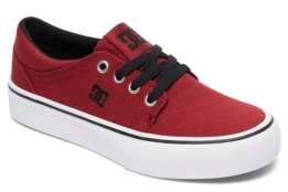 DC SHOES TRASE TX B SHOE DARK RED