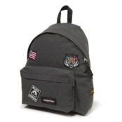 EASTPAK PADDED PAK´R BLACK DENIM BLACK PATCHED