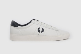 FRED PERRY SPENCER LEAHTER PORCELAN/NAVY