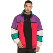 GRIMEY BRICK TOP TRACK JACKET PURPLE