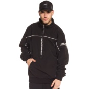 GRIMEY COUNTERBLOW PULL OVER JACKET BLACK
