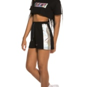 GRIMEY FLUID PLANET SHORTS BLACK
