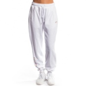GRIMEY LUCY PEARL GIRL JOGGIN PANT WHITE