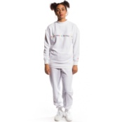 GRIMEY THE LUCY PEARL GIRL CREWNECK WHITE