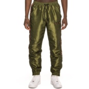 GRIMEY MIDNIGHT TRACK PANTS GREEN