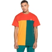 GRIMEY MIDNIGHT TRICOLOR TEE RED