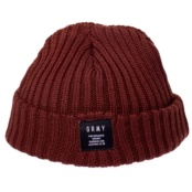 GRIMEY NATURAL FISHER BEANIE FW17 BROWN