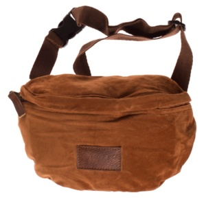 GRIMEY NATUTAL SUEDE FANNY PACK FW17 BROWN