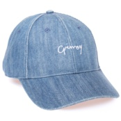 GRIMEY NATURAL FW17 WASHED DENIM CURVED VISOR CAP WASHED DENIM