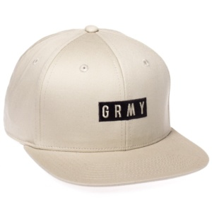 GRIMEY OVER GRAVITY SNAPBACK SAND