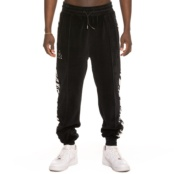 GRIMEY GRMY X NATOS Y WAOR VELOUR PANTS BLACK