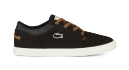LACOSTE BAYLISS VULC 317 2 NEGRO/MARRON