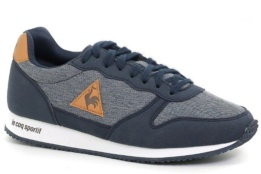 LE COQ SPORTIF ALPHA GS CRAFT DRESS BLUE/BROWN SUGAR