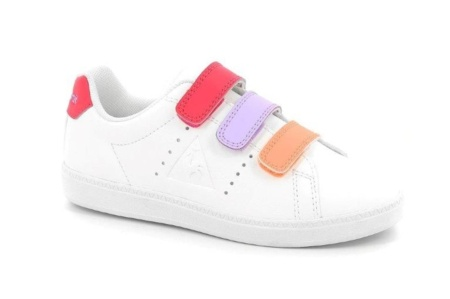 LE COQ SPORTIF COURTONE PS S LEA optical white/rose r