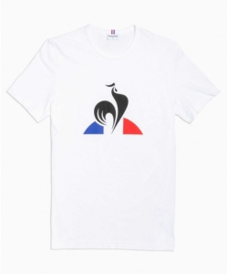 LE COQ SPORTIF ESS TEE SS N°1 M NEW OPTICAL WHITE