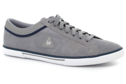 LE COQ SPORTIF SAINT DANTIN SUEDE FROST GRAY/DRESS BLUE