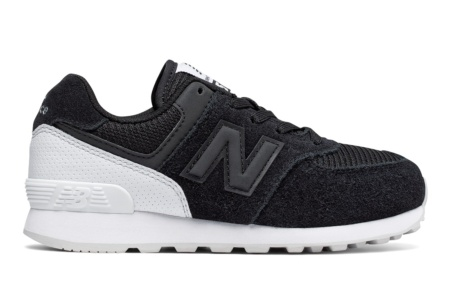NEW BALANCE KL574 KIDS LIFESTYLE CORDON NEGRO/BLANCO