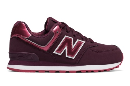 NEW BALANCE KL574 KIDS LIFESTYLE CORDON BURDEOS