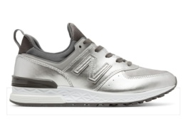 NEW BALANCE WS574 SILVER