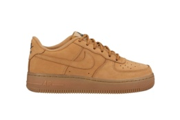 NIKE NIKE AIR FORCE 1 WINTER PRM GS FLAX/FLAX OUTDOOR GREEN GUM LI