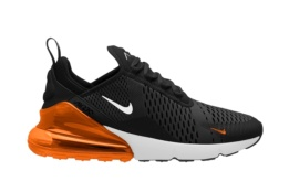 NIKE AIR MAX 270 BLACK/WHITE TOTAL ORANGE