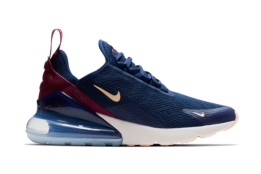 NIKE NIKE AIR MAX 270 BLUE VOID/CRIMSON TINT-TRUE BERRY