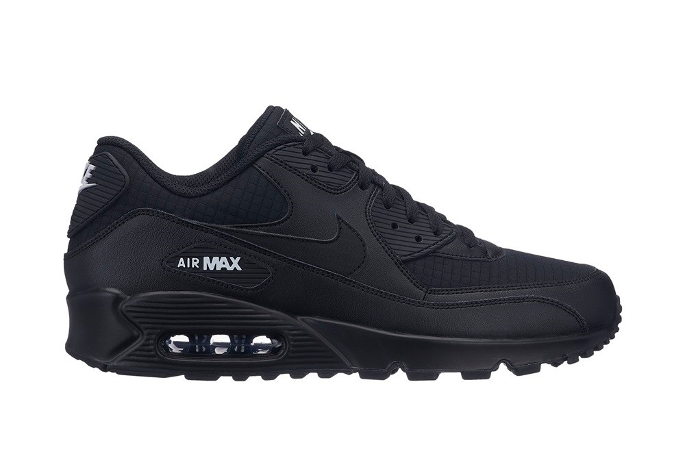 pretty nice fd7e2 58ba2 NIKE NIKE AIR MAX 90 ESSENTIAL Black White