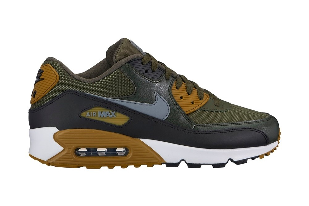 nike air max 90 essential cargo khaki 537384 307