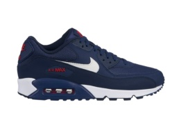 NIKE NIKE AIR MAX 90 ESSENTIAL MIDNIGHT NAVY/WHITE UNIVERSITY