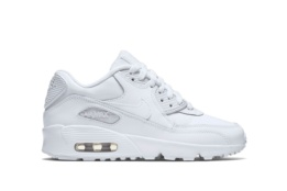 NIKE NIKE AIR MAX 90 LTR (GS) WHITE/WHITE