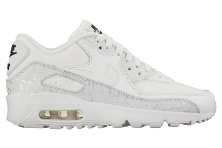NIKE AIR MAX 90 LEATHER SE SUMMIT WHITE