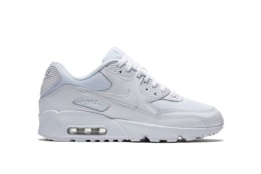 NIKE BOYS´AIR MAX 90 MESH (GS) WHITE/WHITE