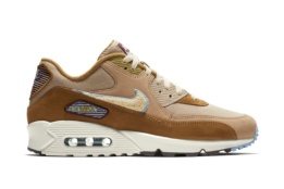 NIKE NIKE AIR MAX 90 PREMIUM SE MUTED BRONZE/LIGHT CREAM ROYAL