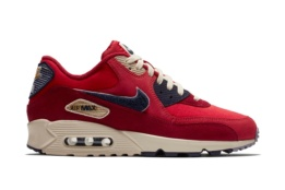 NIKE NIKE AIR MAX 90 PREMIUM SE UNIVERSITY RED/PROVENCE PURPLE