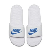 NIKE BENASSI JDI WHITE/VARSITY ROYAL-WHITE