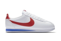 NIKE CLASSIC CORTEZ LEATHER WHITE/VARSITY RED VRSTY RYL
