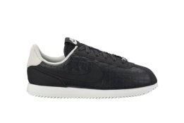 NIKE CORTEZ BASIC LEATHER SE (GS) NEGRO