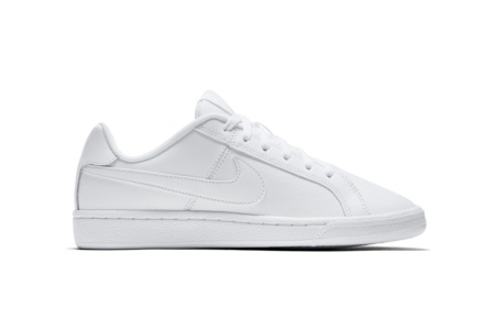 NIKE NIKE COURT ROYALE (GS) WHITE/WHITE