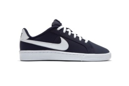 NIKE NIKE COURT ROYALE (GS) Obsidian/White