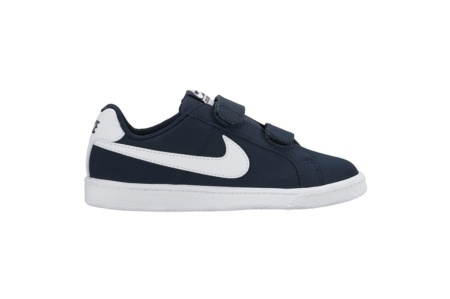 NIKE COURT ROYALE (PS) OBSIDIAN/ WHITE